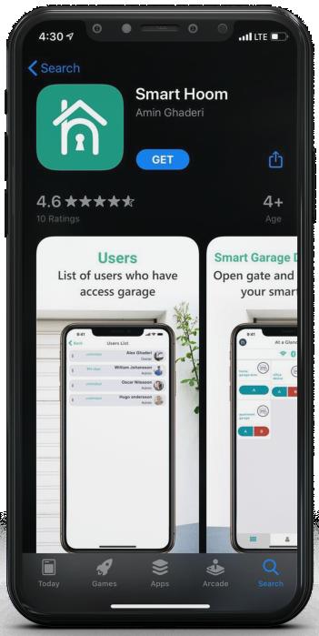 دانلود اپلیکیشن هوم نسخه iOS